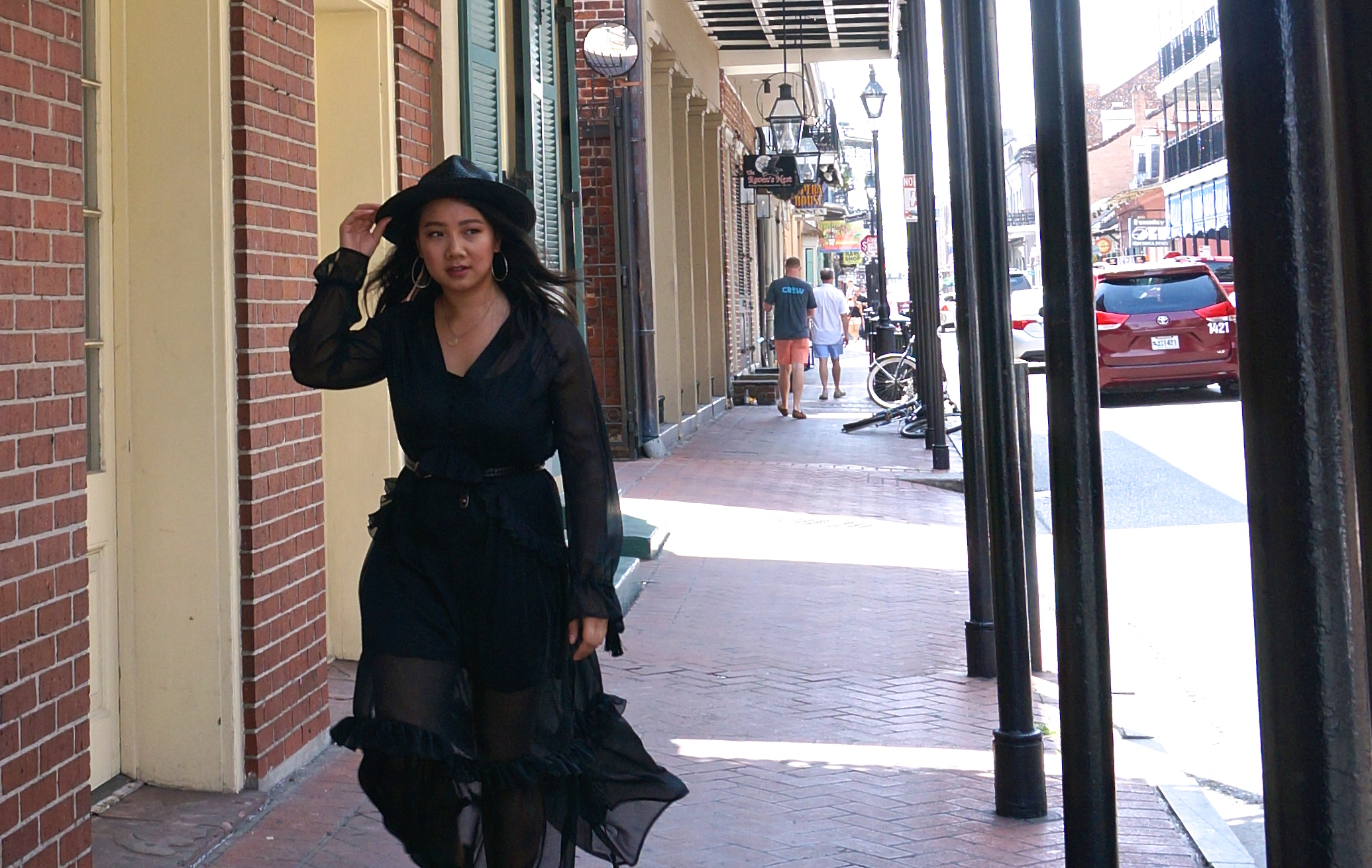 New Orleans French Quarter walking tour American Horror Story Coven Witches walk