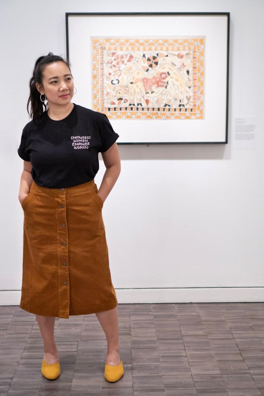 Asian Art Museum Mithila Painting