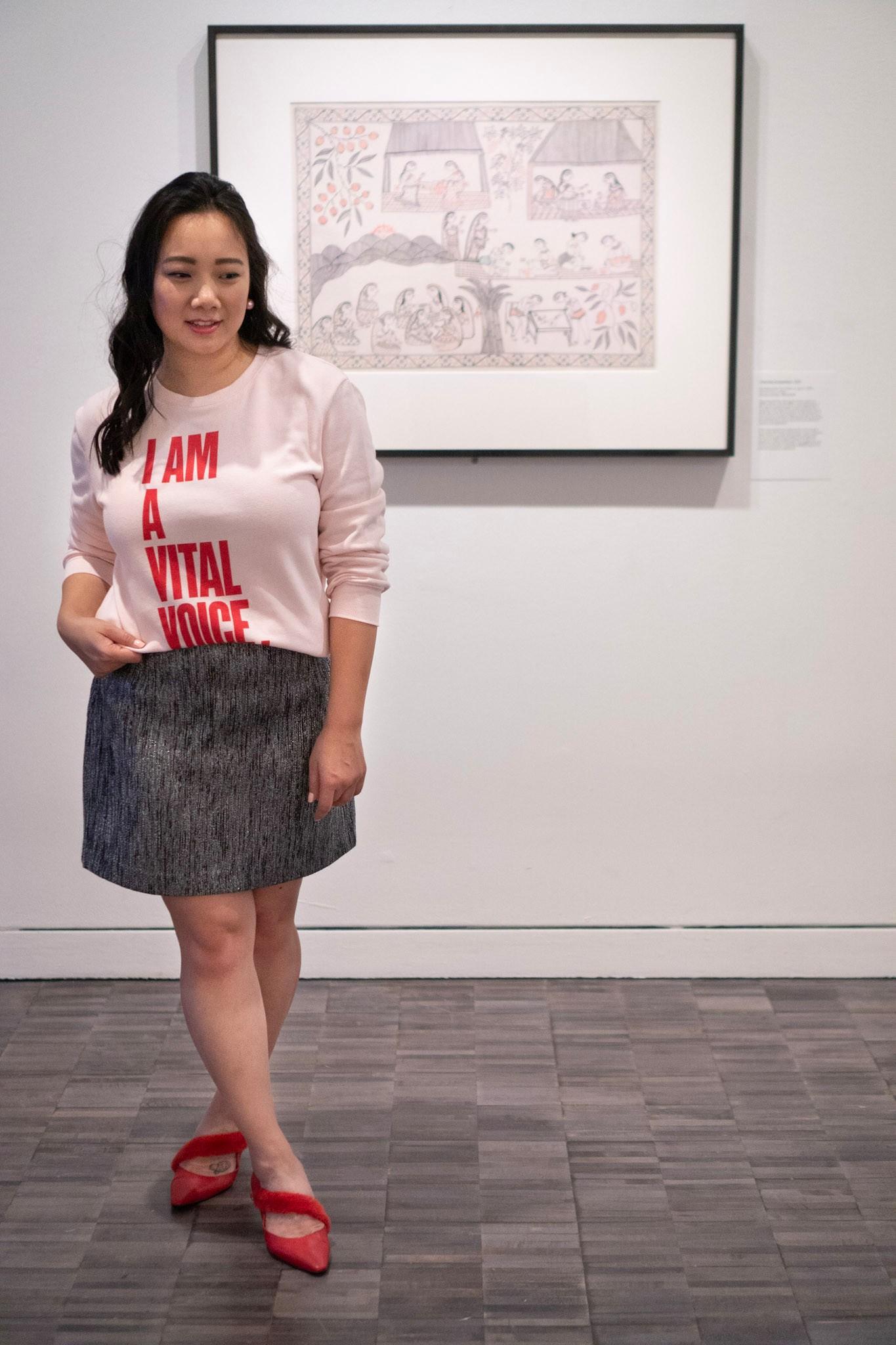 Asian Art Museum Mithila Painting Target Vital Voices