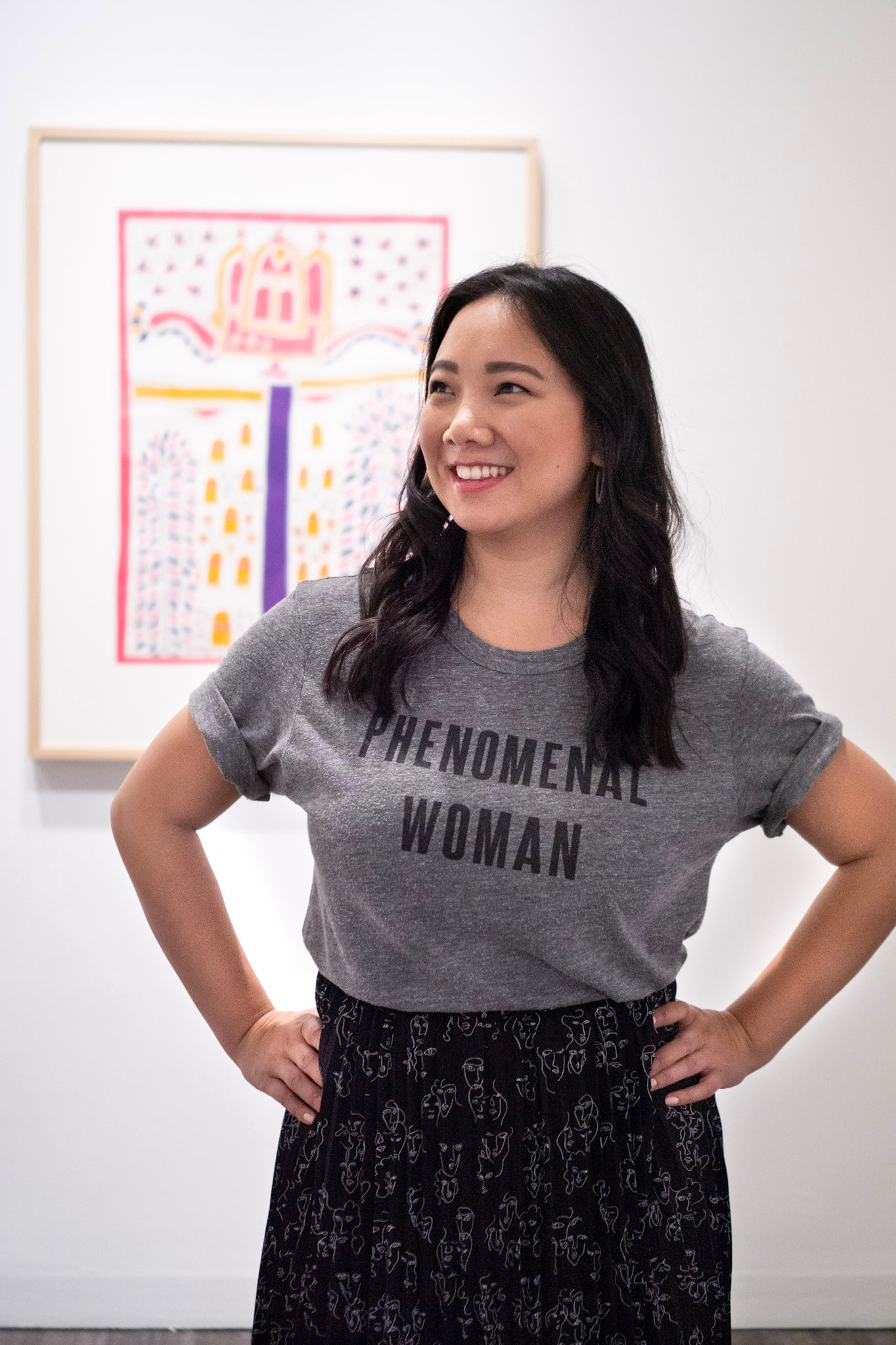 Asian Art Museum Mithila Painting Phenomenal Woman Target Vital Voices