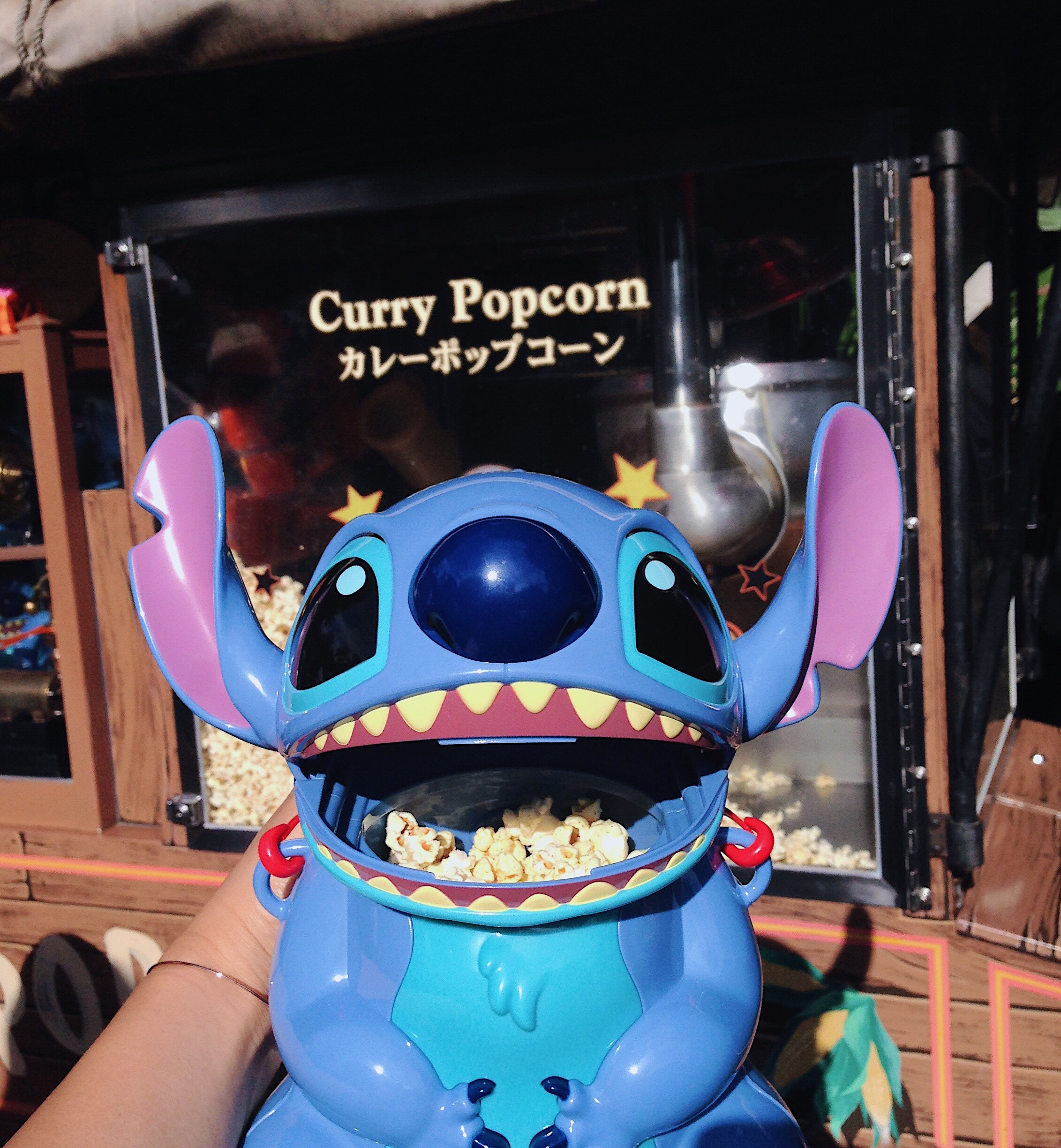 japan tokyo disneyland resort sea disney style food eats stitch lilo hawaii curry popcorn