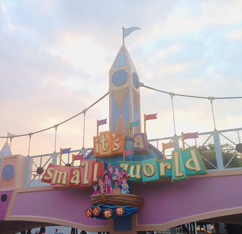 Hong Kong Disneyland It's A Small World Disney Park