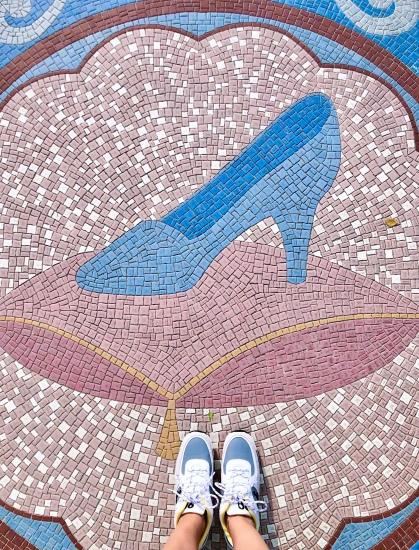 Hong Kong Disneyland Cinderella Fantasy Garden Shoefie