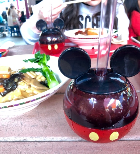 Hong Kong Disneyland Mickey Boba Disney Souvenir cup