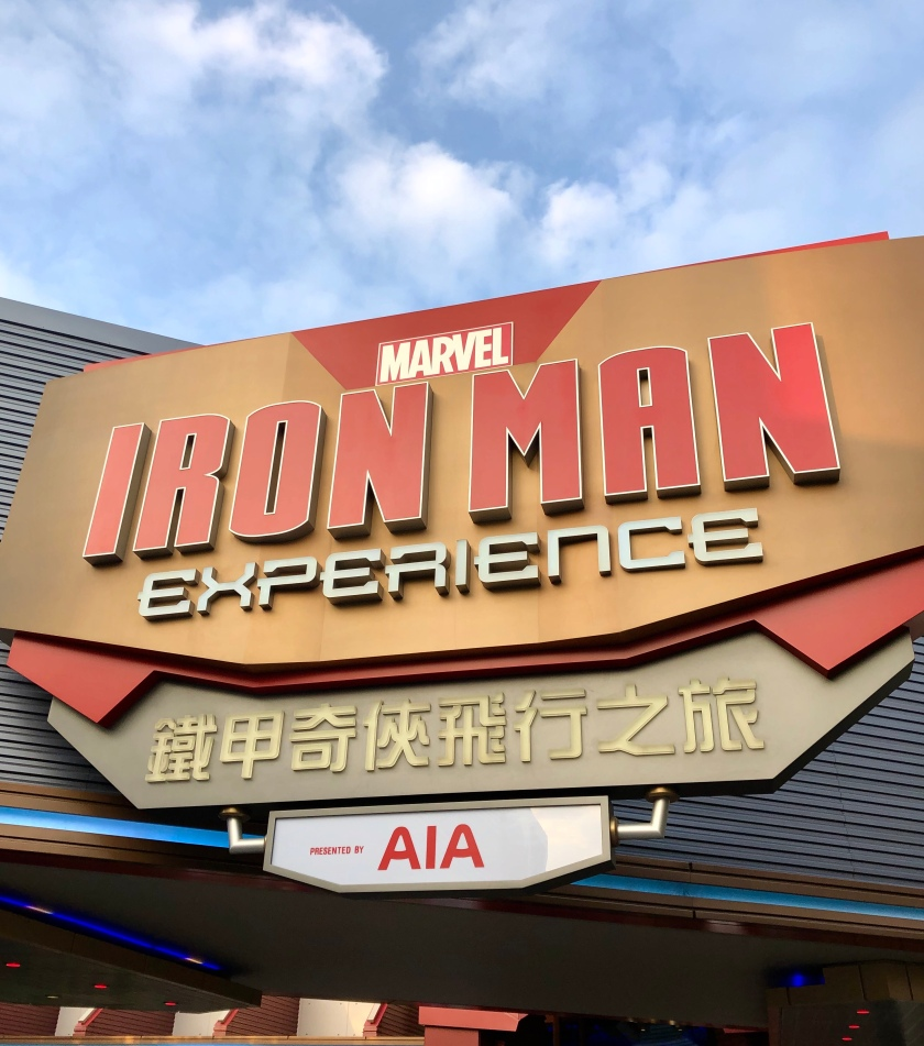 Hong Kong Disneyland Iron Man Experience Disney Marvel