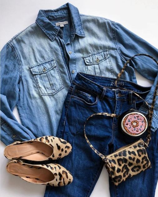 DisneyBound clawhauser cheetah Zootopia denim
