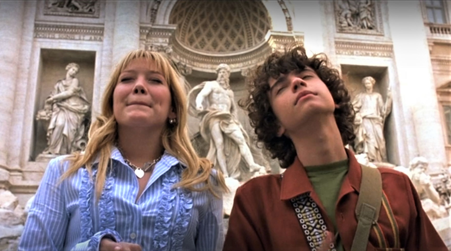 lizzie mcguire movie hilary duff trevi fountain